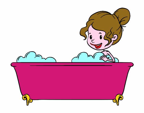 Disegno per fare il bagno colorato da utente non for Disegno bagno online