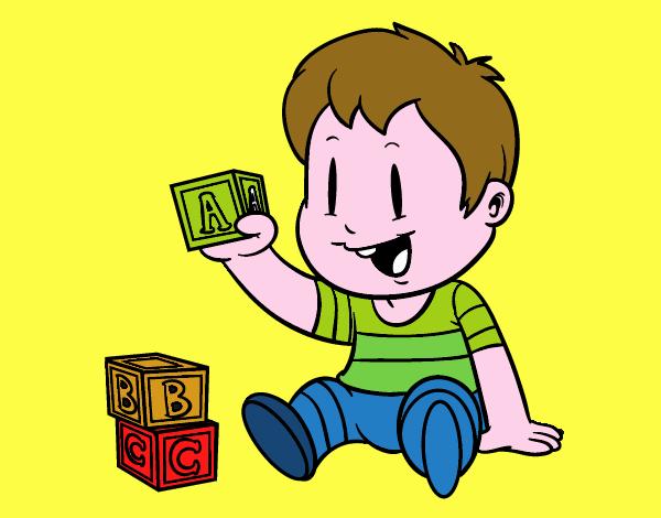 Disegno Bambino Con Pezzi Colorato Da Utente Non Registrato Il 10 Di