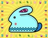 Coniglio di Pasqua laterale