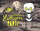 Felice partito di Halloween