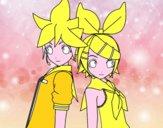 Len e Rin Kagamine Vocaloid
