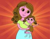 Mamma con la figlia