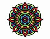 Mandala punti di fuoco