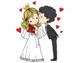 Matrimonio del principe e la principessa