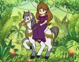 Principessa e destriero