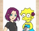 Sakura e Lisa