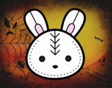 Faccia coniglio di Pasqua