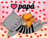 Papà gatto