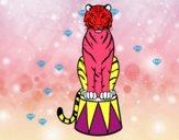 Tiger di circo