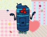 Robot en servizio
