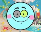 Smiley sorridere