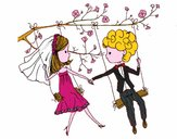 Sposato su un altalena