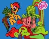 Rainbow Dash palazzo