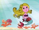 Sirena e il suo pesce