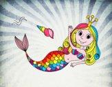 Sirena salutando