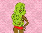 Una madre orgogliosa