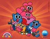 Gumball e amici felice