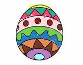 Uovo di Pasqua infantile