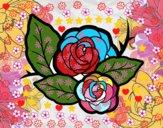 Due rose