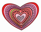 Mandala cuore