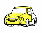 Un'auto urbana