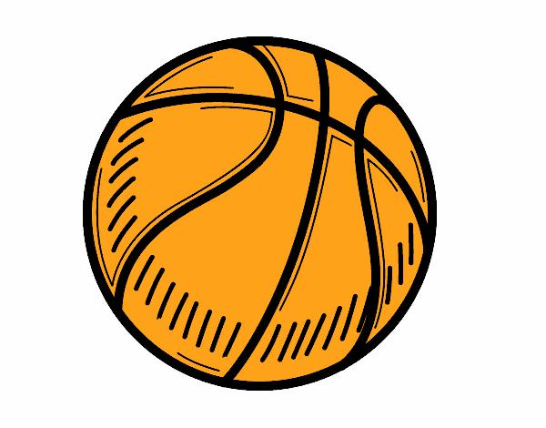 Disegno Il Pallone Da Pallacanestro Colorato Da Utente Non