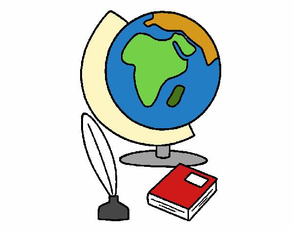 Disegno Mappamondo Colorato Da Utente Non Registrato Il 02 Di