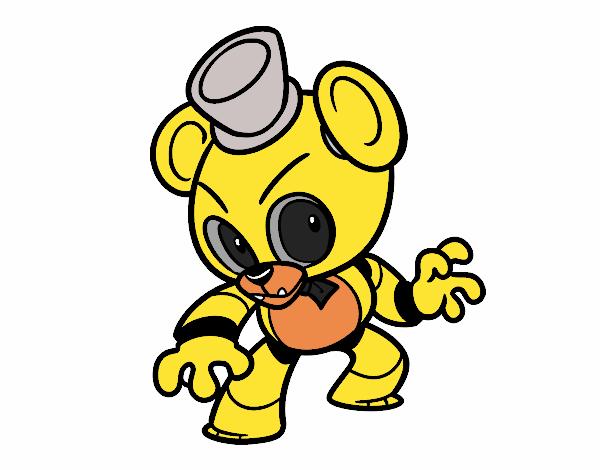 Disegni Da Colorare Di Five Nights At Freddy S Migliori Pagine Da