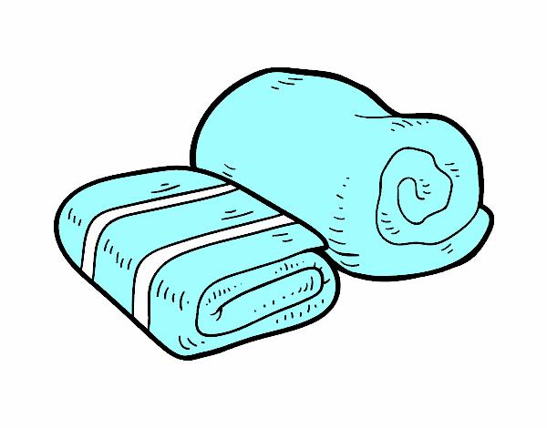 Disegno asciugamani da bagno colorato da utente non for Disegno bagno online