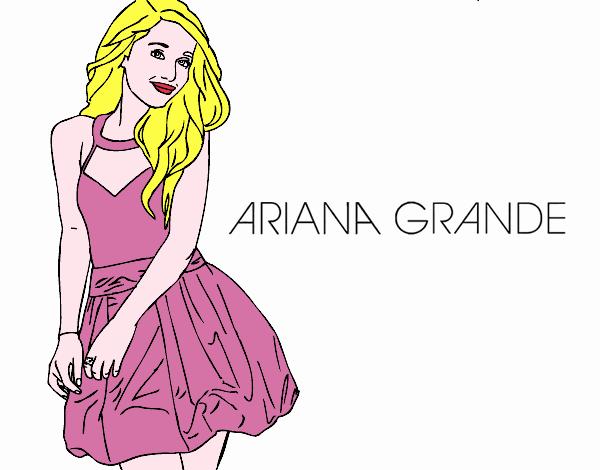 Disegno Ariana Grande Colorato Da Utente Non Registrato Il 18 Di Marzo Del 2020