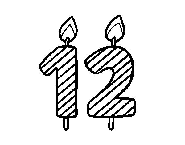 Disegno Di 12 Anni Da Colorare Acolore Com