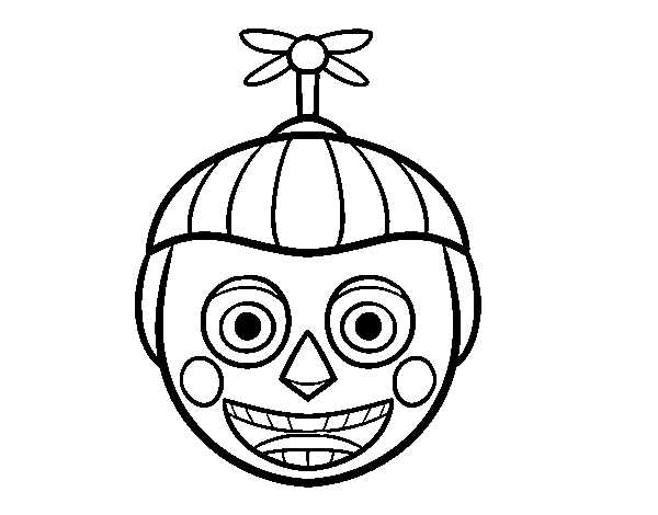 Disegno di Balloon Boy di Five Nights at Freddy's da Colorare