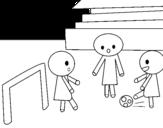 Disegni Di Bambini Che Giocano Da Colorare Acolore Com