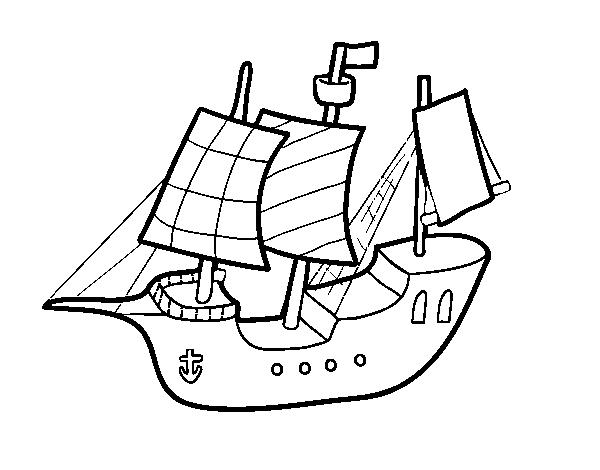 Disegno Di Barca Giocattolo Da Colorare Acolorecom