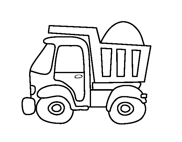 Disegno Di Camion Di Trasporto Da Colorare Acolorecom