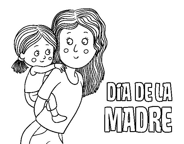 Disegno Di Festa Della Mamma Da Colorare Acolore Com