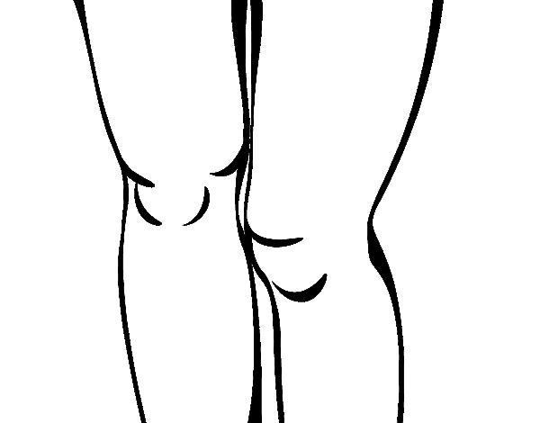 Risultati immagini per disegni ginocchia