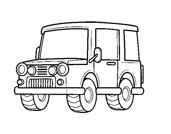 Disegno Di Jeep Azienda Da Colorare Acolore Com