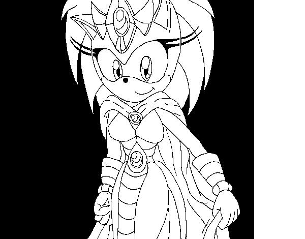 Disegno Di Madre Di Sonic Da Colorare Acolore Com