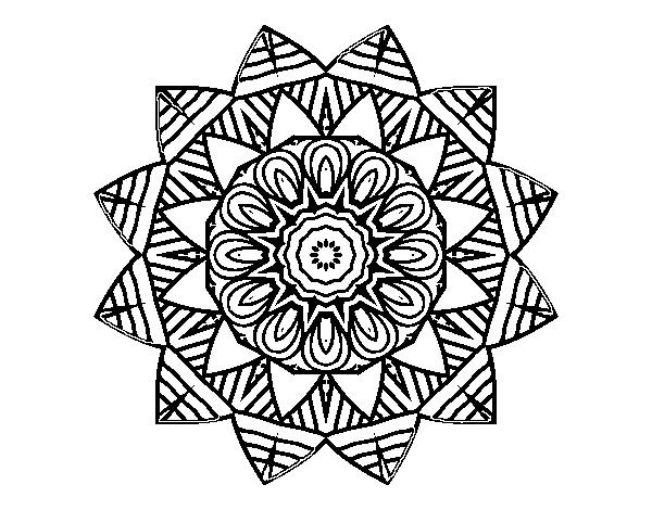 Disegno Di Mandala Frutta Da Colorare Acolorecom