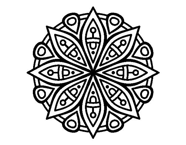 Disegno Di Mandala Per La Concentrazione Da Colorare Acolorecom
