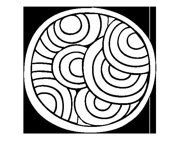Disegno Di Mandala Rotondo Da Colorare Acolore Com