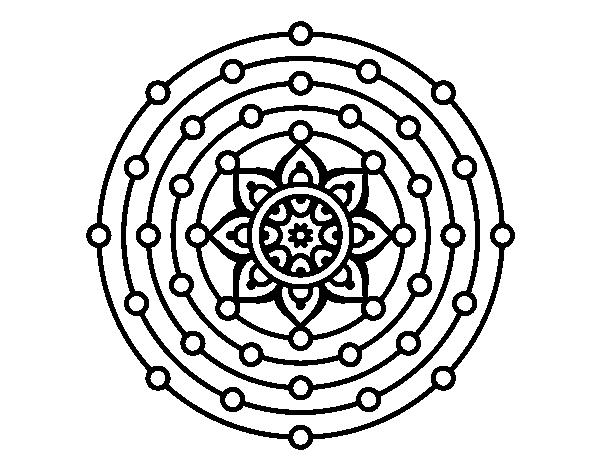 Disegno Di Mandala Sistema Solare Da Colorare Acolore Com