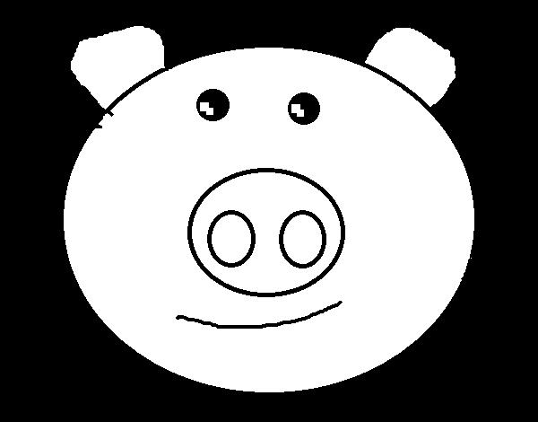 Disegno Di Muso Di Maialino Da Colorare Acolore Com