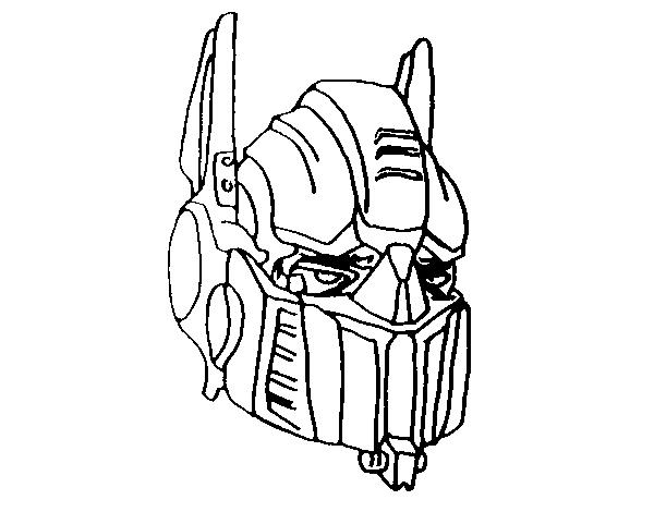 Disegno Di Optimus Prime Da Colorare Acolorecom