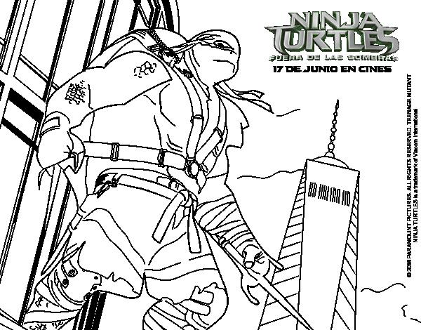 Disegno Di Raphael Ninja Turtles Da Colorare Acolore Com