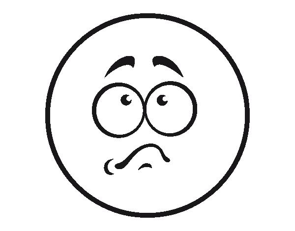 Disegno Di Smiley Imbarazzato Da Colorare Acolorecom