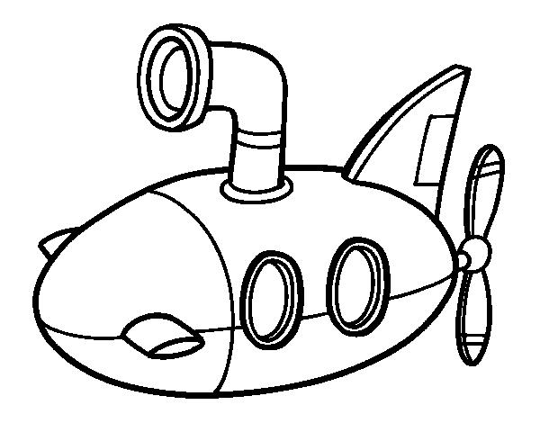 Disegno Di Sottomarino Da Colorare Acolore Com