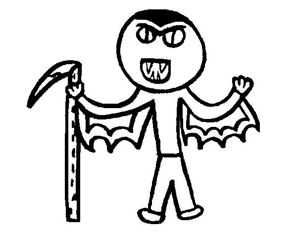 Disegno Di Vampiro Da Colorare Acolorecom