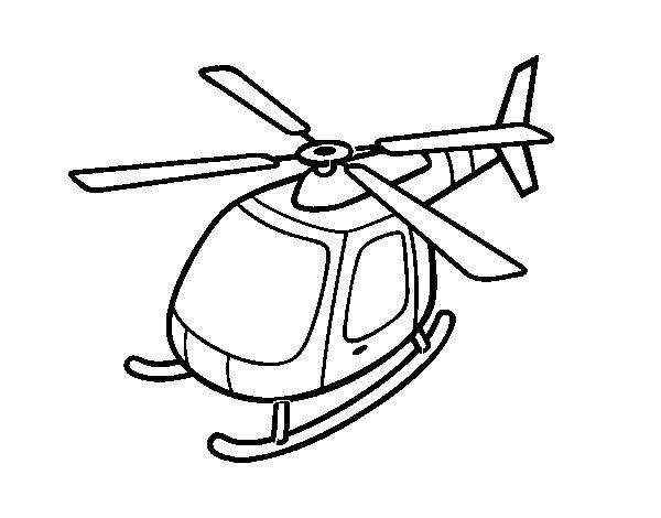 Disegno Di Volo In Elicottero Da Colorare Acolore Com